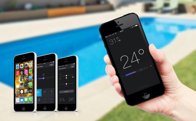 Systém iQ riadenia bazéna