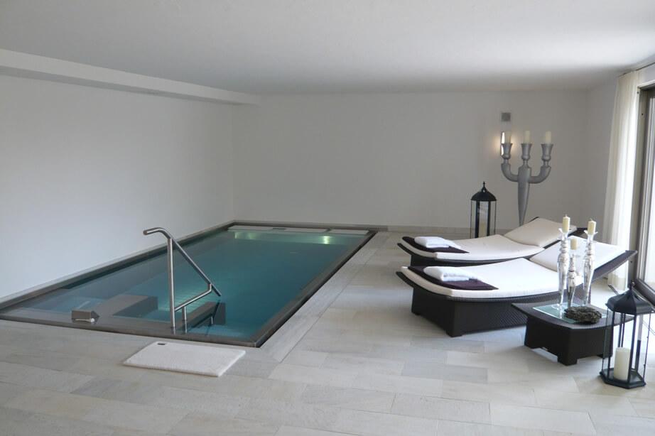 nerezové bazény